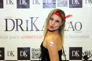 Pré-lançamento do Blog Drika Leão