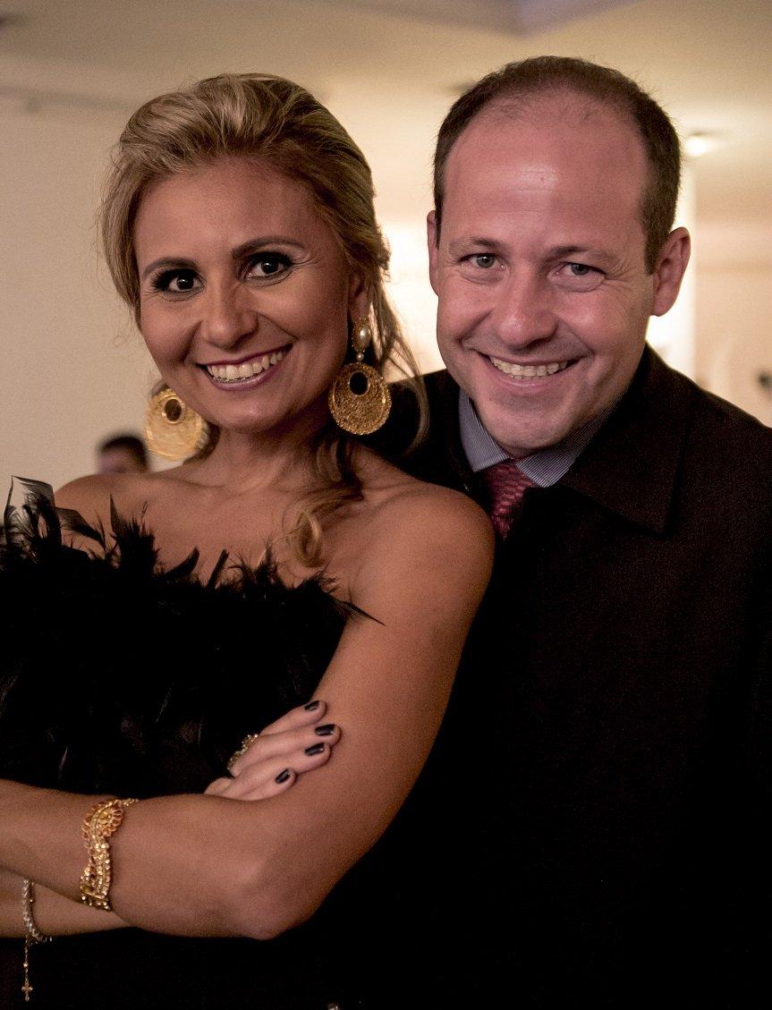 DrikaLeão e Decio Júnior, Assessor de Imprensa.