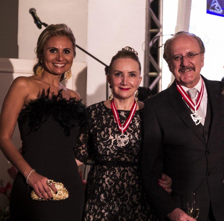 DrikaLeão,  Suely Calais e Antônio Claret Guerra, Diretores do Jornal MG Turismo.