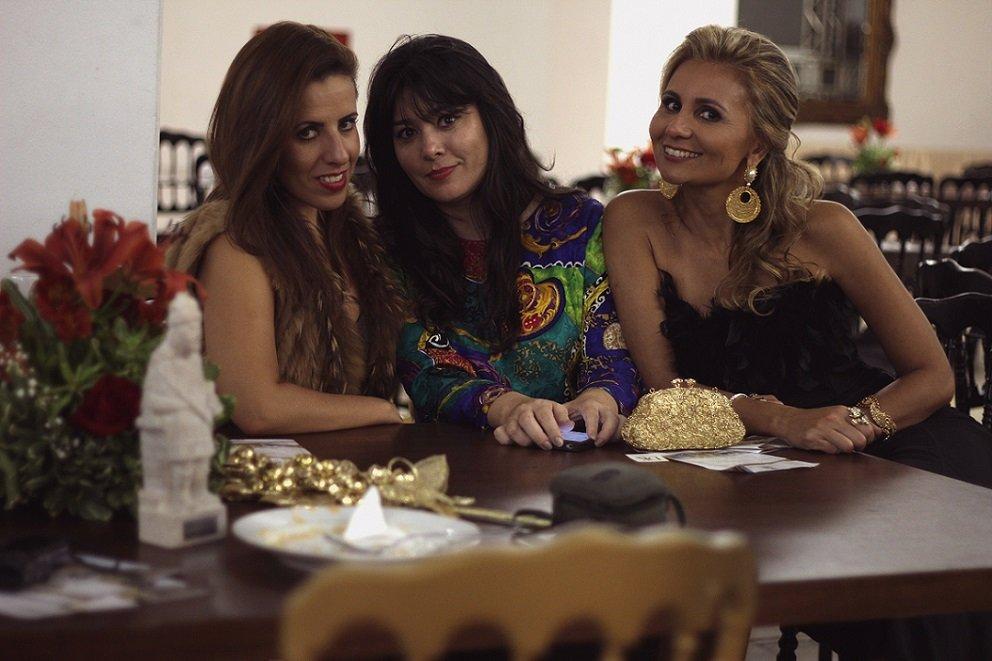 DrikaLeão, Fernanda Andrade e Ana Christina Naves, empresárias e colunistas do Jornal Belvedere. BH