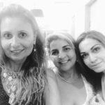 Drika Leão, Simone, gerente da Triagem e Nina Oliveira - assessora de marketing